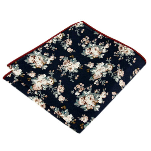 Men's Pocket Square Handkerchiefs Chest Towel With Beautiful Pattern, No.7