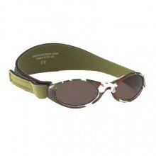 Baby Banz 0-2 Uv Sunglasses €? Adventurer, Green Camouflage