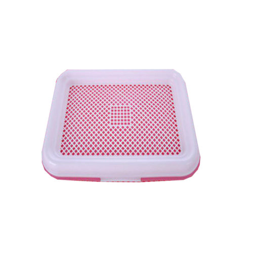 Dog Toilet Puppy Dog Pet Potty Patch Training Pad Pet Supplies 47 X 34 CM Pink