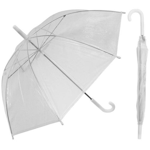 RainStoppers W103CHC 36 in. Childrens Clear Canopy Umbrella, 3 Piece