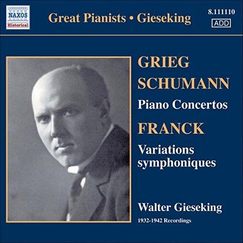 GIESEKING - GIESEKING CONCERTO SERIES [CD]