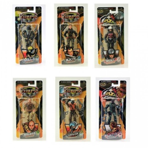 The Corps Action Figure Assortment - 1 Supplied at Random