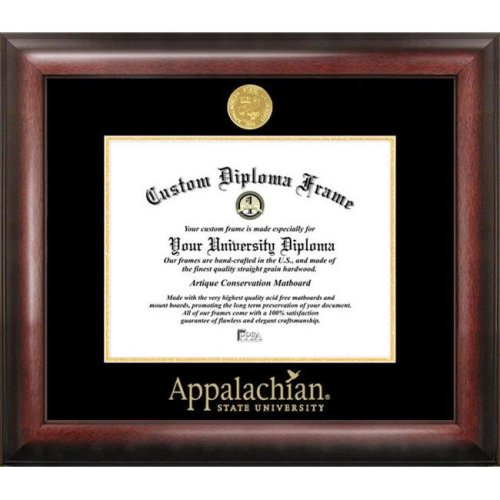 Appalachian State University Gold Embossed Diploma Frame