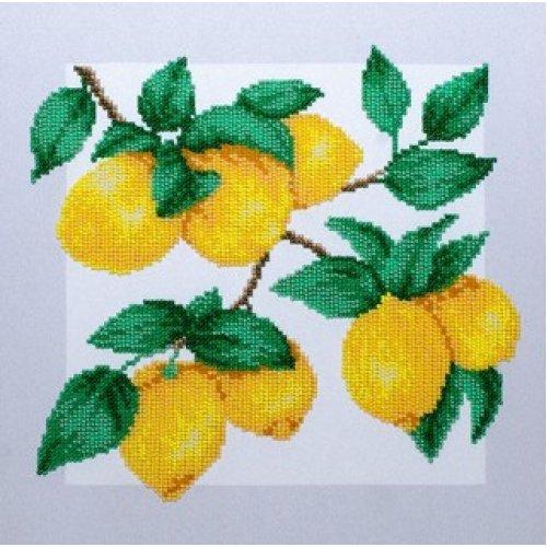 VDV Bead Embroidery Kit - Lemons