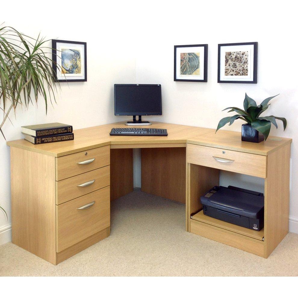 (Classic Oak, Wood Grain Profile) Home Office Furniture UK