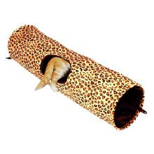 Fashionable [Leopard Print] Pet Toys--Collapsible Tunnel Cat Toy,(24*90CM)