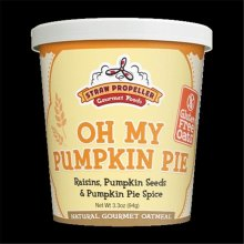 Straw Propeller Gourmet Foods 3.3 oz. Oh My Pumpkin Pie Hot Oatmeal, Case Pack 12