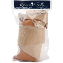 Realeather Crafts Suede Trim Scrap Bag 8oz-Assorted