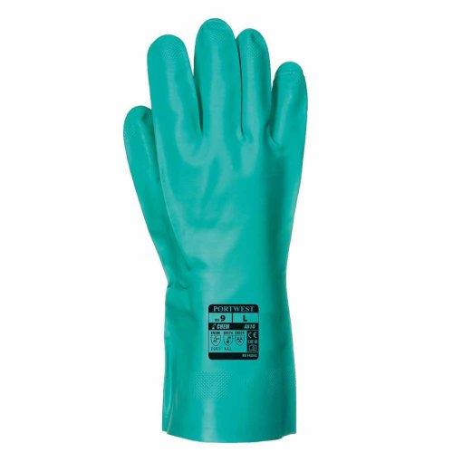sUw - Nitrosafe Chemical-Oil-Food Gauntlet Glove (1 Pair Pack)