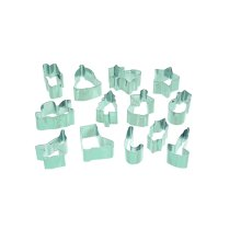 13 Piece Sweetly Does It Christmas Fondant Cutter Set