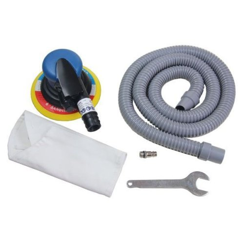 """US PRO Tools 6"""" 150mm Air Dust Free DA Orbital Palm Sander With Dust Extractor"""