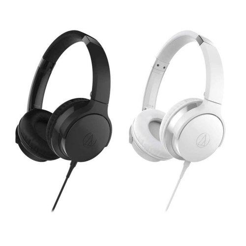 Audio-Technica ATH-AX1iS White Headphones