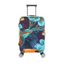 Travel Waterproof Luggage Elastic Cover Protector Suits for 25-28 Inch Luggage