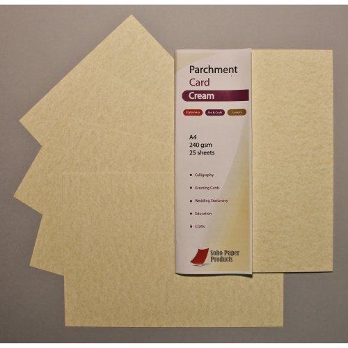 Parchment Card Cream A4 240gsm