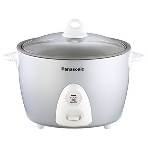 Panasonic SR-G18FGL 10 Cup Rice Cooker, Steamer & Steaming Basket, Rice Scoop