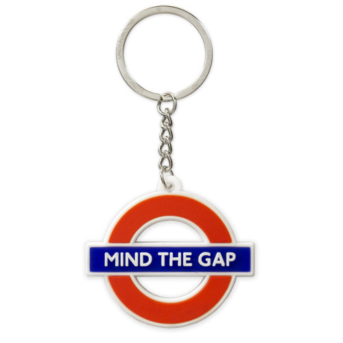 TFL2005 Licensed Ductile Mind the Gap Keyring