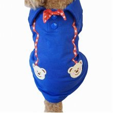 Pet Clothes Little Dogs Clothing Fashion Clothing British Style [Blue]