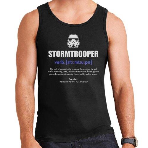 Original Stormtrooper Dictionary Definition Men's Vest