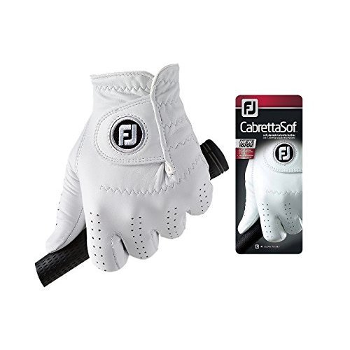 Footjoy CabrettaSof - Golf Gloves for Left Hand Color, White, Size XL