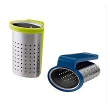 Set of 2 Stainless Steel Tea Bag/Tea Mesh Strainer/Tea Infuser,BLUE & GREEN