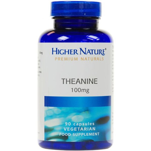Higher Nature Theanine 100mg 30 Capsules