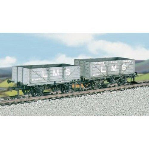 OO wagon kit - Set of 2 LMS wagons: coal & 4 plank - Ratio 576 - free post