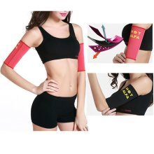 Sports Arm Shaper Sauna Sweat Slimming Arms Warmer Belt Fat Burn Calories Fitness Weight Loss
