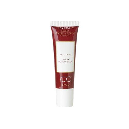 KORRES Wild Rose CC Cream SPF30, Medium 30 ml