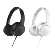 Audio-Technica ATH-AX1iS White Headphones