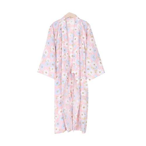 Yukata Cotton Pajamas Sleeping Sweat Khan Steamed Clothing Loose Pajamas