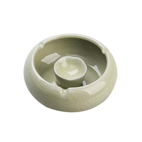 Simple Continental Ashtrays Home Office Decoration Ashtrays, YELLOW