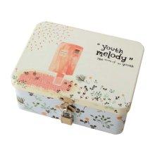 Cute Safe Lock Box Desktop Cosmetics Box-S/Mailbox