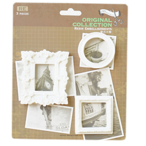 Gypsum Stickers/Pasters/Tags DIY Creative Gift/Photo Book [MINI Photo Frame]