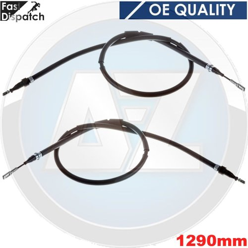 FOR VW GALAXY SHARAN ALHAMBRA REAR AXLE LEFT RIGHT BRAKE PARKING PARK CABLES