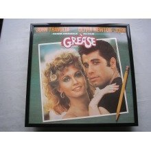 GREASE OST LP cover framed for wall mounting BLACK