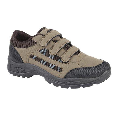 Dek Mens Ascend Walking Shoe Khaki