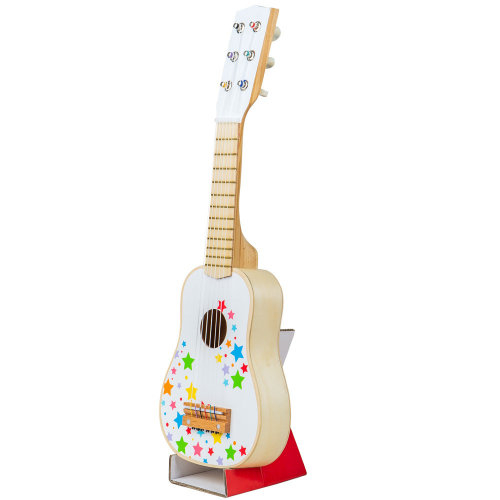 Bigjigs Toys Children's Wooden Guitar - Kid's Musical Instruments