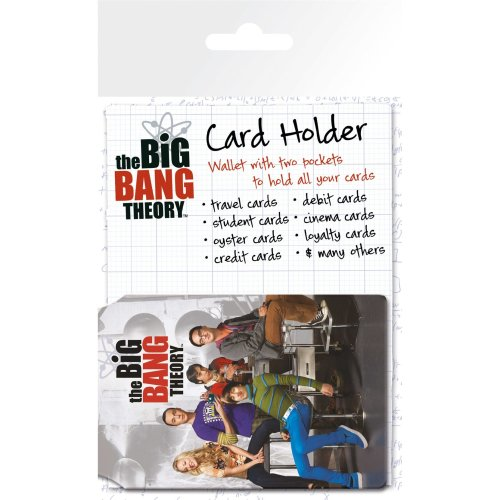The Big Bang Theory Classroom Travel Pass Card Holder