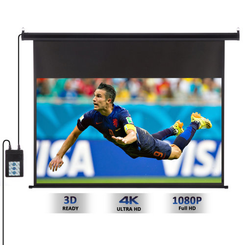 "120"" 16:9 Electric Motorized Projector Projection Screen Home Theater"