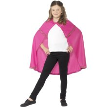 Smiffy's Children's Cape (small, Pink) -  cape fancy dress pink girls superhero accessory 44561 childrens book costume smiffys