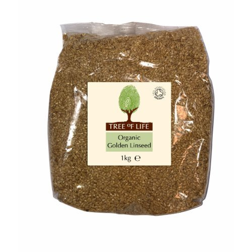 Tree Of Life  Organic Linseed - Golden 1kg x 6