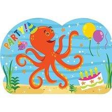 Ocean Buddies Postcard Invitations - /8