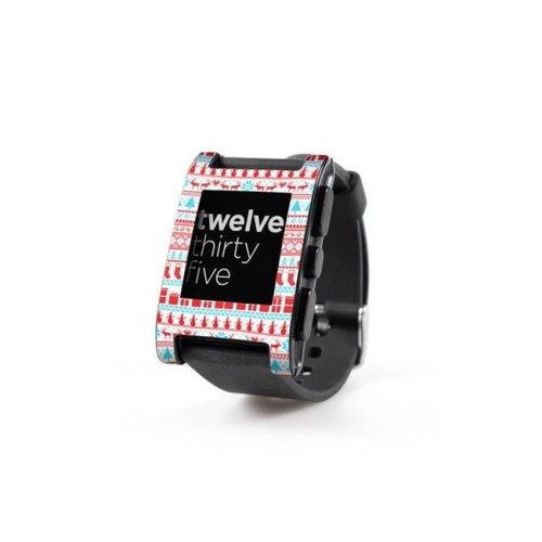 DecalGirl PWCH-COMFYCHR Pebble Watch Skin - Comfy Christmas