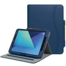 Fintie Samsung Galaxy Tab S3 9.7 Case, [Corner Protection] Multi-Angle Viewing Stand Cover with Protective S Pen Holder Card Pocket Auto Sleep/Wake.