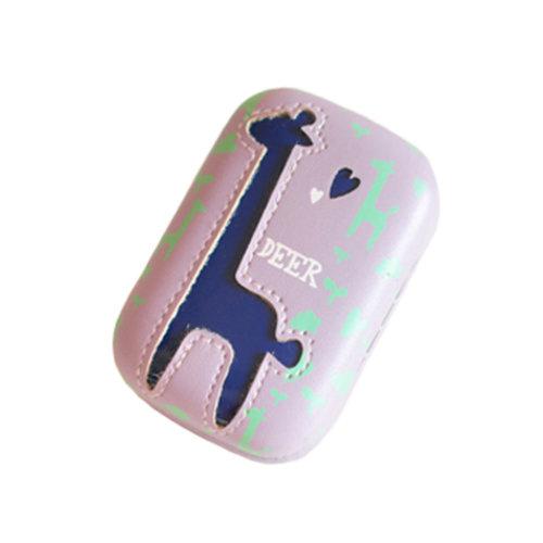 Creative Contact Lens Case Solution Lenses Holders Box Travel Kit Cases - Purple
