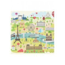 Wooden Puzzle - Collection Paris: Illustrated Paris