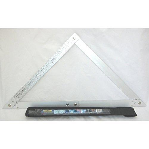 "Toolzone 24"" Aluminium Folding Square With Case - 24 -  24 aluminium folding square case toolzone"