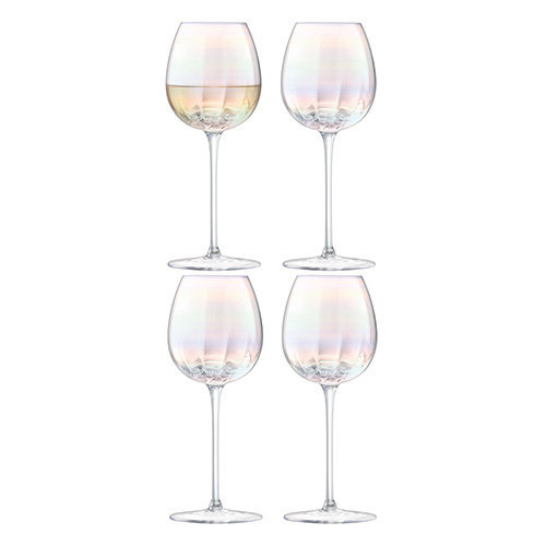 LSA Pearl White Wine Glass 325ml x 4