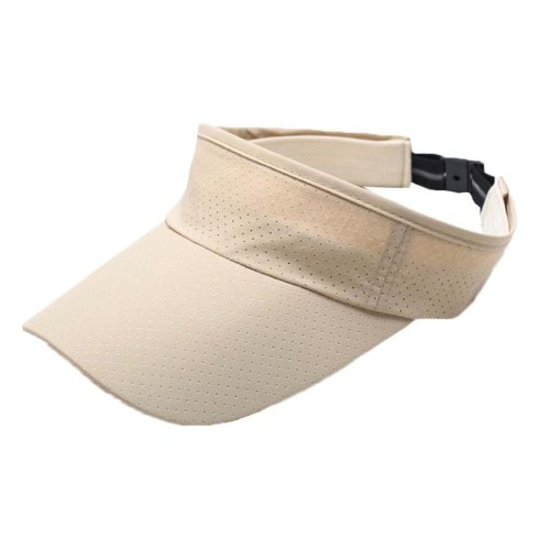 Unisex Sports Visor Cap Sun Hat with Adjustable Strap