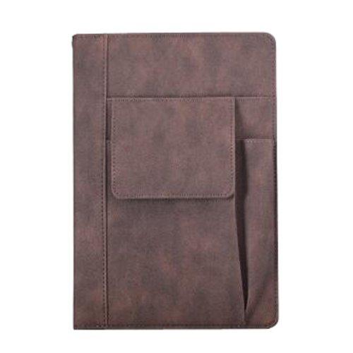 Office Personal Organizer Planner Schedule Notebook Portable Planner [Brown]